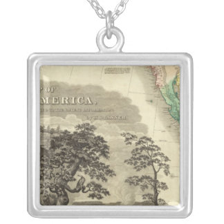 North America Southwest Silver Plated Necklace