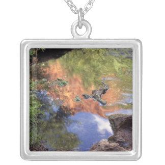 North America, U.S.A., Arizona, Havasu Canyon, 3 Silver Plated Necklace