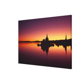 North America, U.S.A., California, Mono Lake, Canvas Print