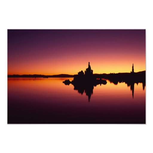 North America, U.S.A., California, Mono Lake, Photo Print
