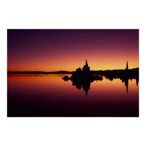 North America, U.S.A., California, Mono Lake, Posters