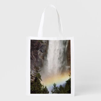 North America, U.S.A., California, Yosemite Reusable Grocery Bag