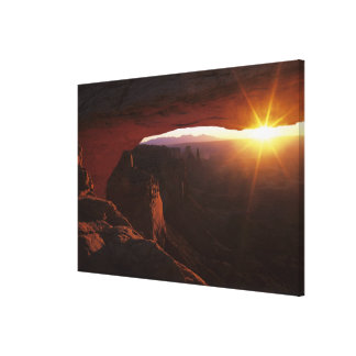 North America, U.S.A., Utah, Canyonlands Gallery Wrapped Canvas