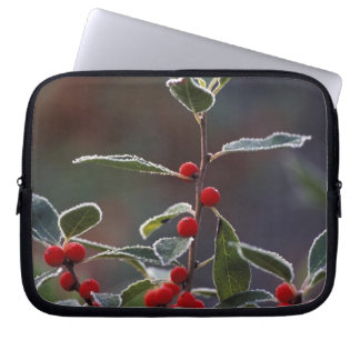 North America, United States, New England. Holly 2 Computer Sleeve