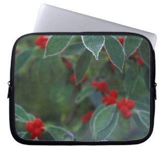 North America, United States, New England. Holly Laptop Sleeve