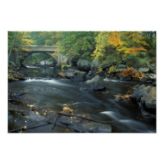 North America, US, NH, The bridge at Packers Poster