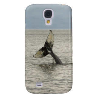 North America, USA, AK, Inside Passage. Humpback Galaxy S4 Case
