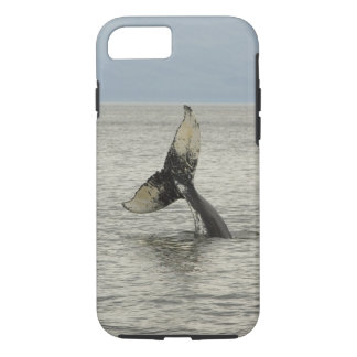 North America, USA, AK, Inside Passage. Humpback iPhone 8/7 Case