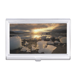 North America, USA, Alaska, Ice Bay, Icescape, Business Card Holder