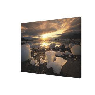 North America, USA, Alaska, Ice Bay, Icescape, Gallery Wrap Canvas