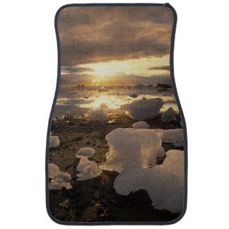 North America, USA, Alaska, Ice Bay, Icescape, Car Mat