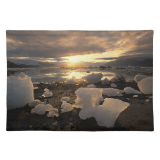 North America, USA, Alaska, Ice Bay, Icescape, Placemat