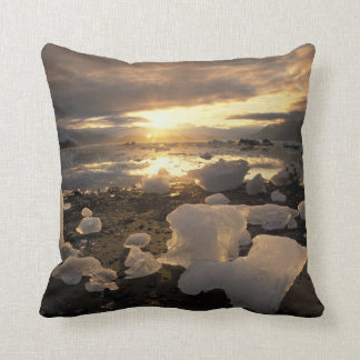 North America, USA, Alaska, Ice Bay, Icescape, Throw Pillow