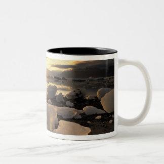 North America, USA, Alaska, Ice Bay, Icescape, Two-Tone Coffee Mug