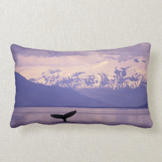 North America, USA, Alaska, Inside Passage. Lumbar Pillow