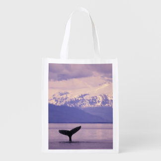 North America, USA, Alaska, Inside Passage. Reusable Grocery Bag