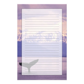 North America, USA, Alaska, Inside Passage. Stationery Paper