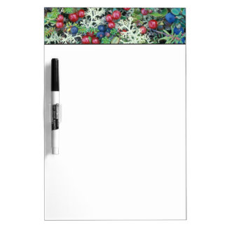 North America, USA, Alaska, Landscape, berries Dry Erase Board