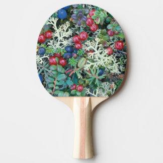 North America, USA, Alaska, Landscape, berries Ping Pong Paddle