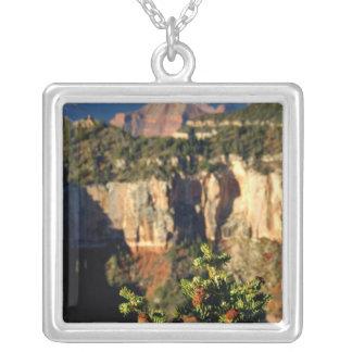 North America, USA, Arizona, Grand Canyon Silver Plated Necklace