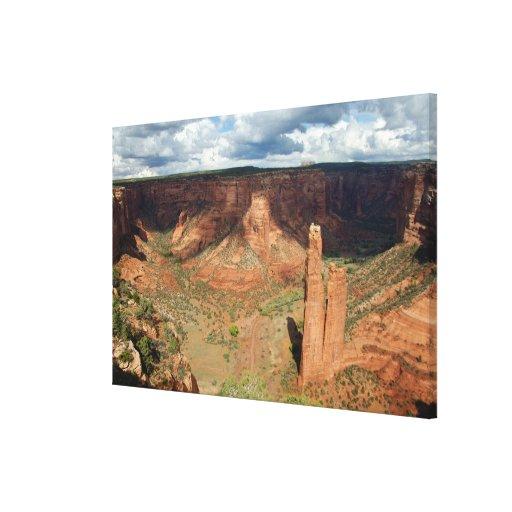 North America, USA, Arizona, Navajo Indian 6 Stretched Canvas Print