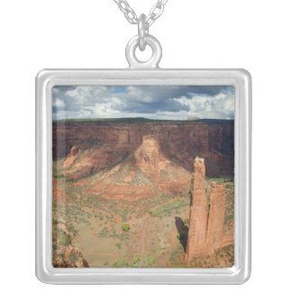 North America, USA, Arizona, Navajo Indian 6 Silver Plated Necklace