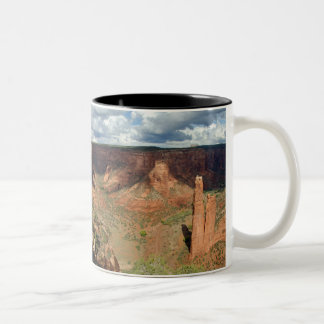 North America, USA, Arizona, Navajo Indian 6 Two-Tone Coffee Mug
