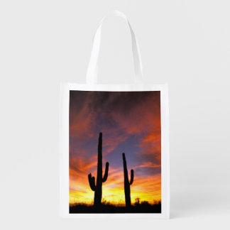 North America, USA, Arizona, Sonoran Desert. Reusable Grocery Bag
