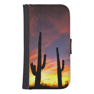 North America, USA, Arizona, Sonoran Desert. Samsung S4 Wallet Case