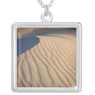North America, USA, Califorinia, Death Valley 2 Silver Plated Necklace