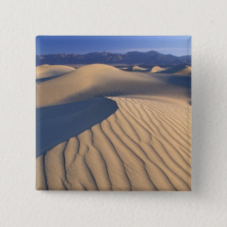 North America, USA, Califorinia, Death Valley 3 15 Cm Square Badge