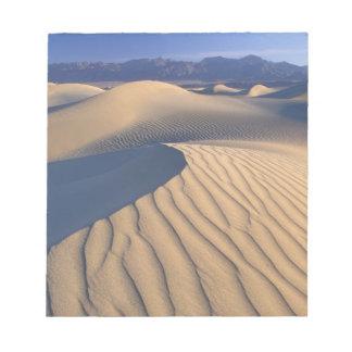 North America, USA, Califorinia, Death Valley 3 Notepad