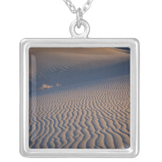 North America, USA, Califorinia, Death Valley Silver Plated Necklace
