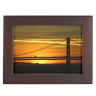 North America, USA, California, San Francisco. 3 Memory Boxes