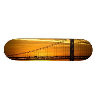 North America, USA, California, San Francisco. 3 Skateboard Decks