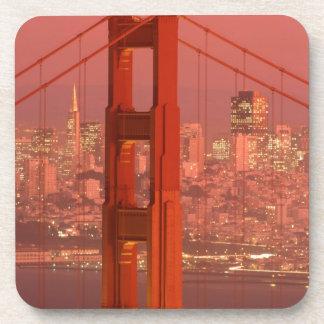 North America, USA, California, San Francisco. Coaster