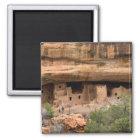 North America, USA, Colorado. Cliff dwellings Magnet