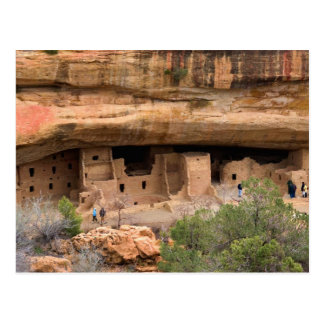 North America, USA, Colorado. Cliff dwellings Postcard