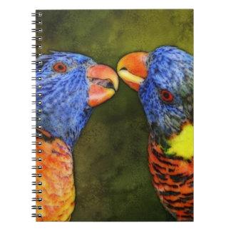 North America, USA, Florida, Tampa, digitally Spiral Notebook