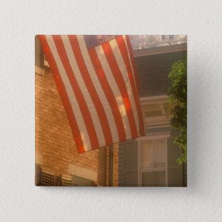 North America, USA, Massachusetts, Nantucket 2 15 Cm Square Badge
