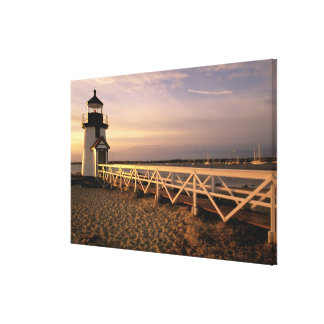 North America, USA, Massachusetts, Nantucket 3 Canvas Print