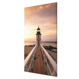North America, USA, Massachusetts, Nantucket 4 Canvas Print