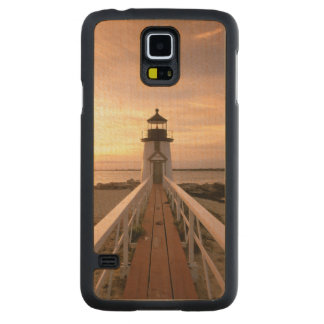 North America, USA, Massachusetts, Nantucket 4 Carved Maple Galaxy S5 Case