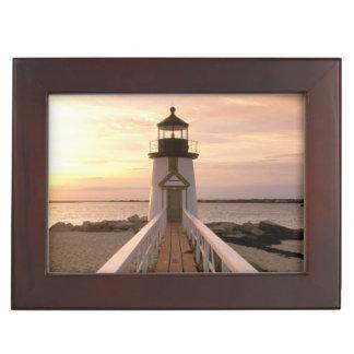 North America, USA, Massachusetts, Nantucket 4 Keepsake Box