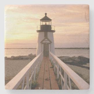 North America, USA, Massachusetts, Nantucket 4 Stone Coaster