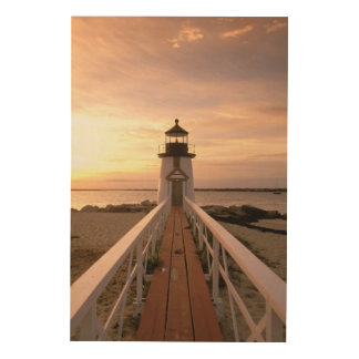 North America, USA, Massachusetts, Nantucket 4 Wood Wall Art