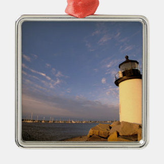 North America, USA, Massachusetts, Nantucket Christmas Ornament