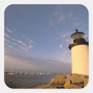 North America, USA, Massachusetts, Nantucket Square Sticker