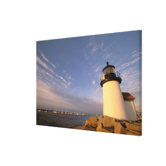 North America, USA, Massachusetts, Nantucket Stretched Canvas Prints