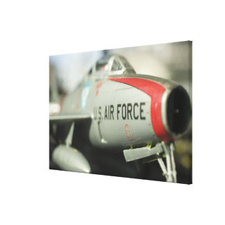 North America, USA, Model Show Stretched Canvas Print